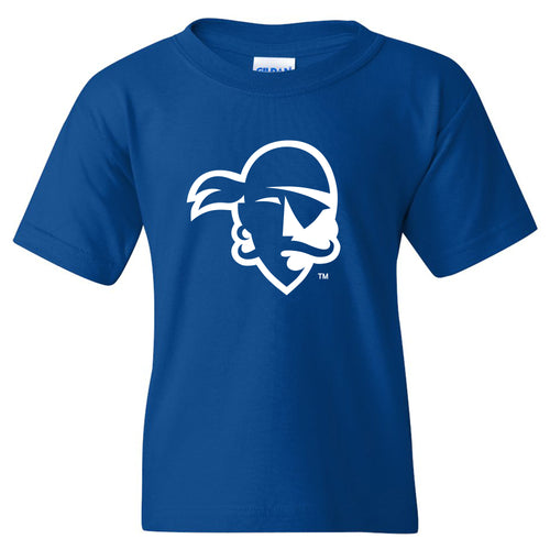 Seton Hall University Pirates Primary Logo Youth Short Sleeve T Shirt - Royal