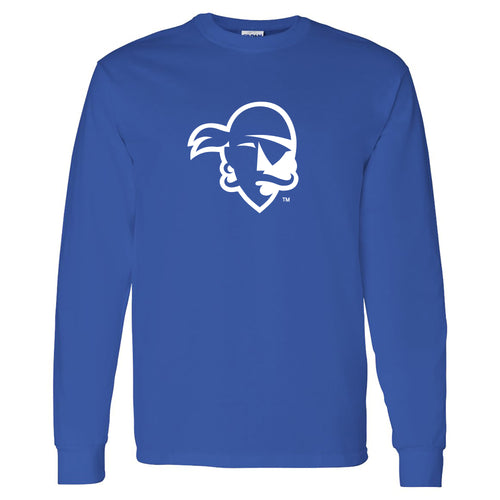 Seton Hall University Pirates Primary Logo Long Sleeve T-Shirt - Royal