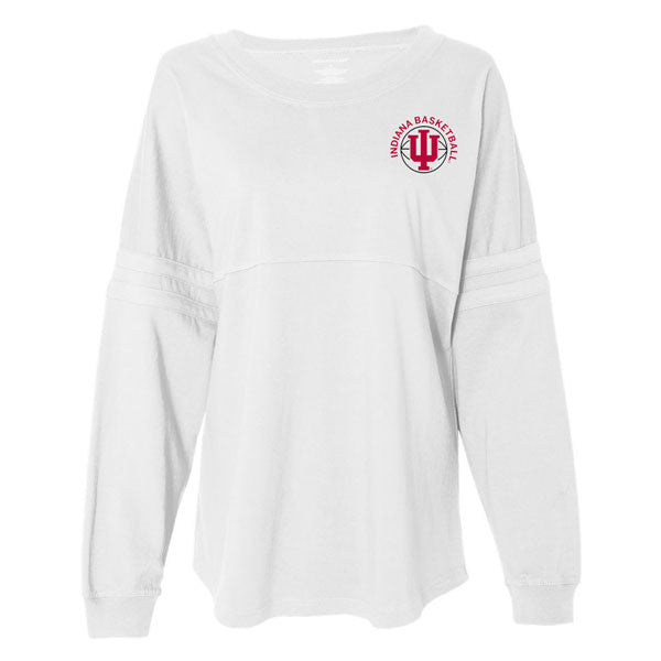 Indiana Hoosiers Bball Pom Jersey - White