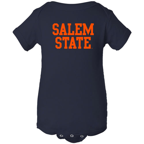 Salem State University Vikings Basic Block Creeper - Navy