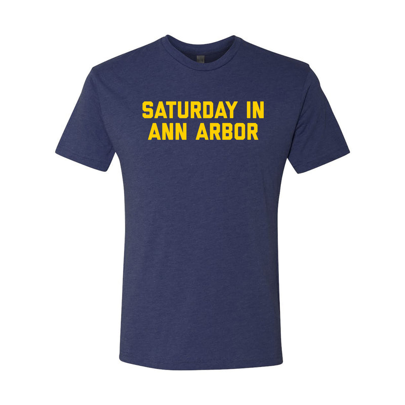 Saturday in Ann Arbor NLA Triblend - Vintage Navy