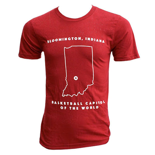 ITH Basketball Capitol S/S - Cranberry