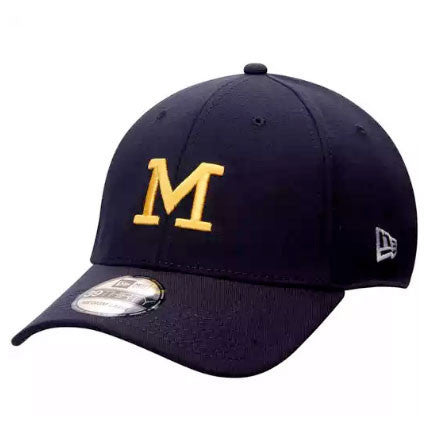 University of Michigan Block M New Era 39Thirty Vault - Navy