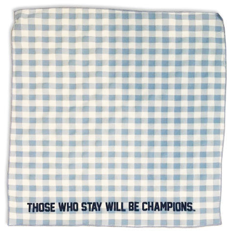 TWS State & Liberty Pocket Square - Gingham