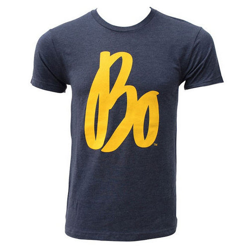 Bo Schembechler Signature Next Level T-Shirt - Vintage Navy