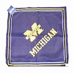 Michigan Bandana - Navy