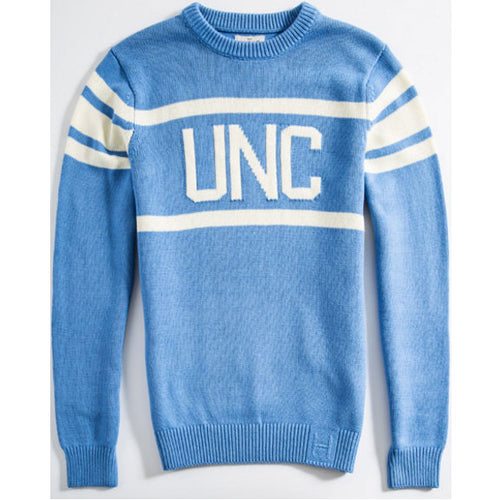 UNC Hillflint Stadium Sweater - Carolina Blue