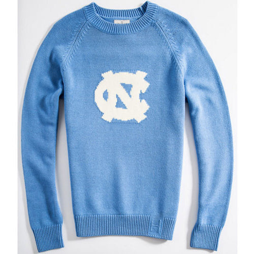 UNC Hillflint Heritage Sweater - Carolina Blue