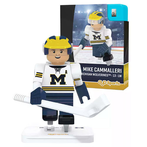University of Michigan Hockey Mike Cammalleri Minifigure