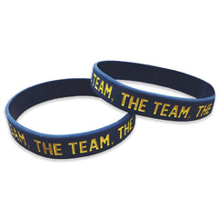 Team Team Team Wristband - Navy (Single Wristband)