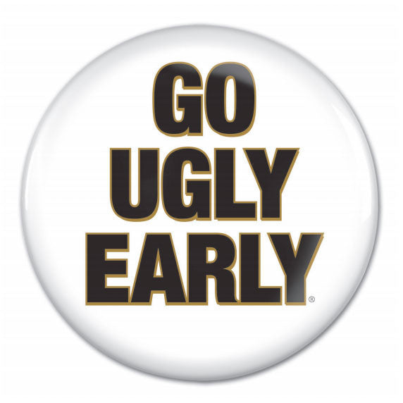 Harry's Go Ugly Early Button