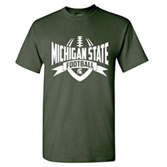 NCAA Football Rush Michigan State - Forest Green