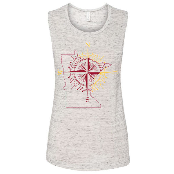 Minnesota Compass Tank - White Marble