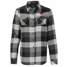 Indiana EMB Flannel - Black Plaid