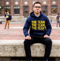 Bo Schembechler The Team The Team The Team Champion Fleece Hoodie - Navy
