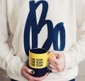 Bo Schembechler Signature Cozy Crew - Oatmeal