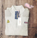 BO Sig Vineyard Vines Shep Shirt - Grey Heather