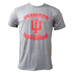 IU Hoosiers Banner Distress - Premium Heather