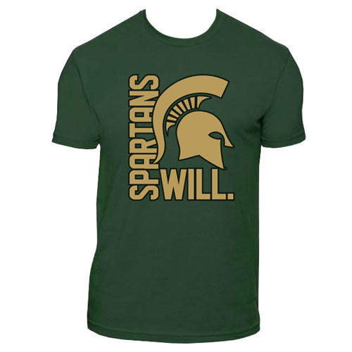 Spartans Will - Forest Green