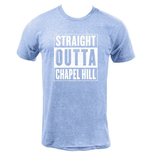 Straight Outta Chapel Hill - Athletic Blue