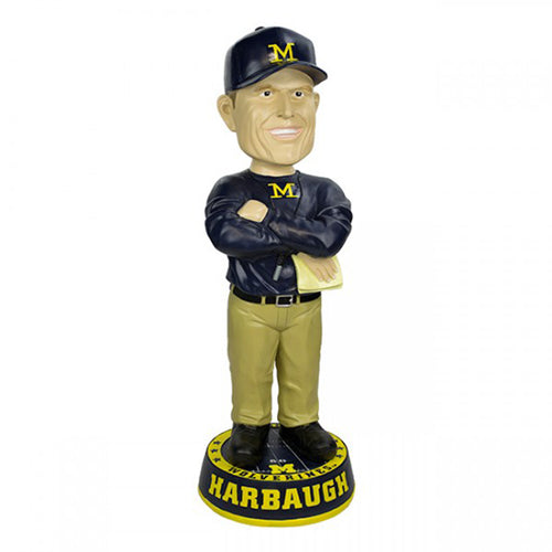 "Jim Harbaugh 36"" Bobblehead"