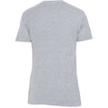 Michigan State University Spartans Faded Helmet American Apparel Short Sleeve T Shirt - Athletic Grey