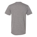 New Jersey Institute of Technology Highlander Distressed Logo American Short Sleeve T Shirt - Athletic Grey