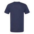 Basic Block University of Michigan American Apparel Triblend Short Sleeve T Shirt - Tri-Indigo