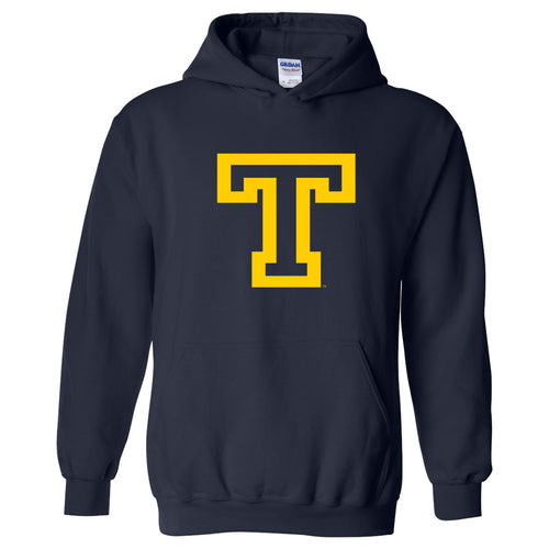 Trinity College Primary Logo Heavy Blend Hoodie - Navy