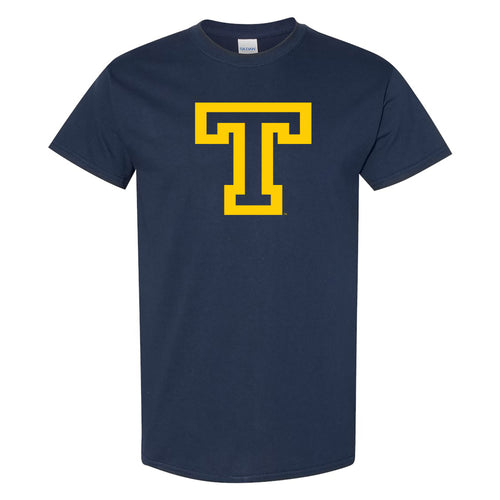 Trinity College Bantams Primary Logo Basic Cotton Short Sleeve T Shirt - Navy