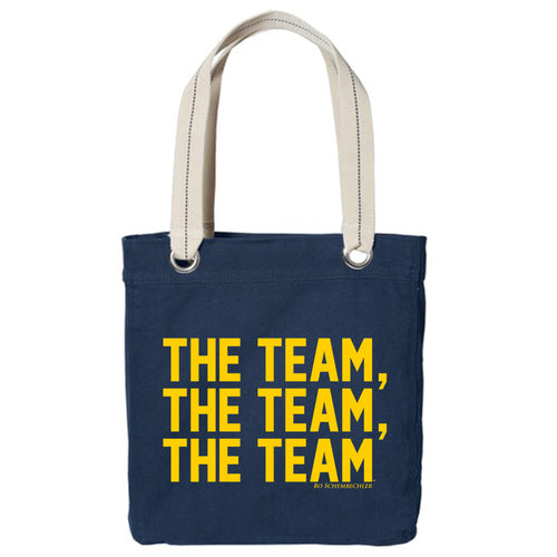 Bo Schembechler The Team The Team The Team Allie Tote - Navy