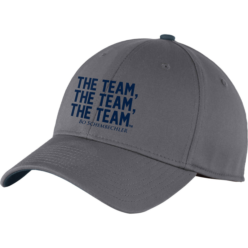Bo Schembechler The Team The Team The Team Interception Cap - Graphite/Navy