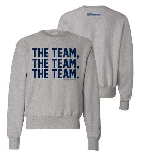 Bo Schembechler The Team The Team The Team Champion Reverse Weave Crew - Oxford