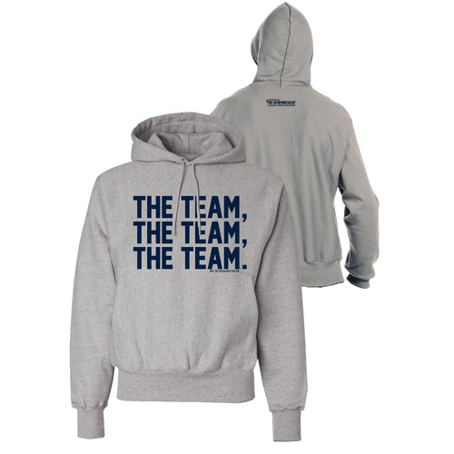 Bo Schembechler The Team The Team The Team Champion Reverse Weave Hood - Oxford Grey