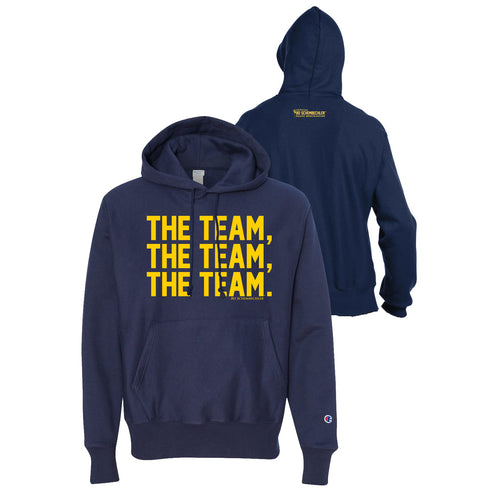 The Team, The Team, The Team Champion Reverse Weave Hood - Navy