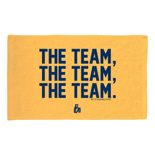 BO Team Team Team Rally Towel - Yellow