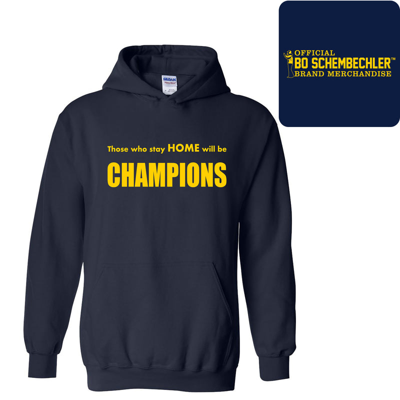 Those Who Stay Home Classic Hoodie - Navy
