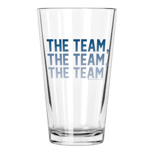 The Team The Team The Team Pint Glass