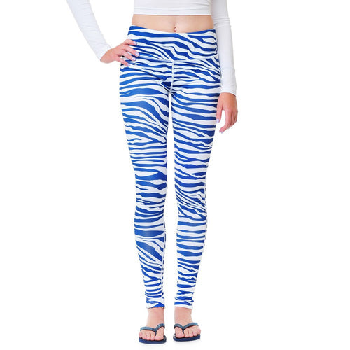 Team Tights - Royal/White