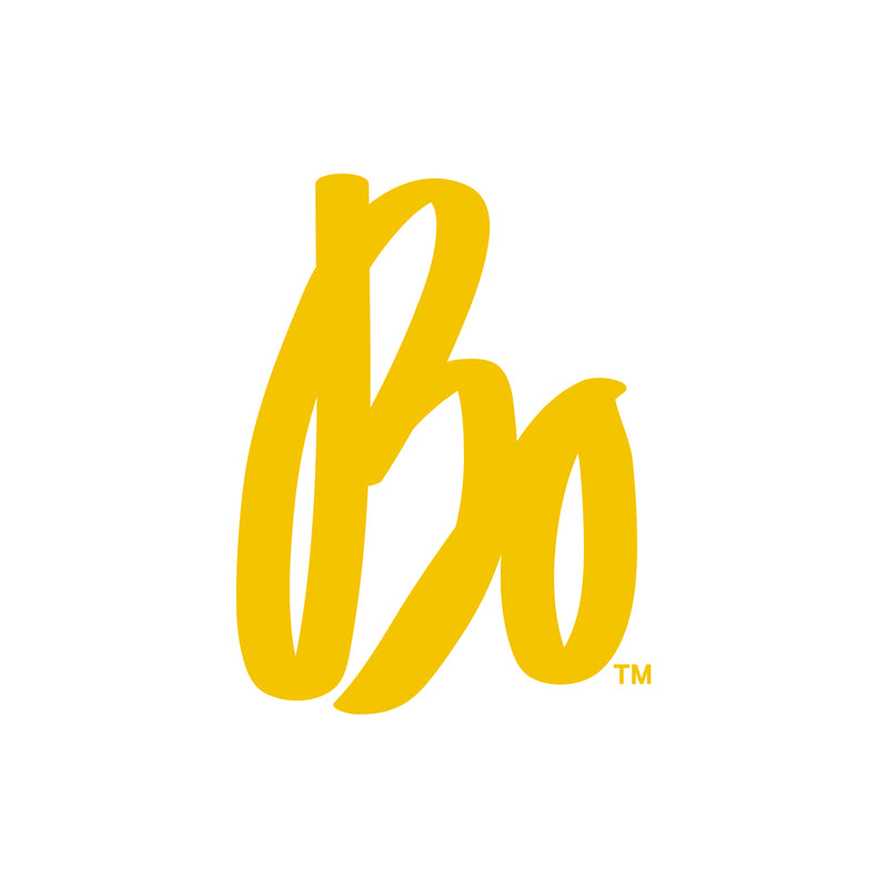 "Bo Schembechler Signature Vinyl Decal 4""h - Maize"