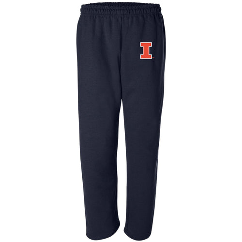 University of Illinois Fighting Illini Primary Logo Sweatpants - Navy