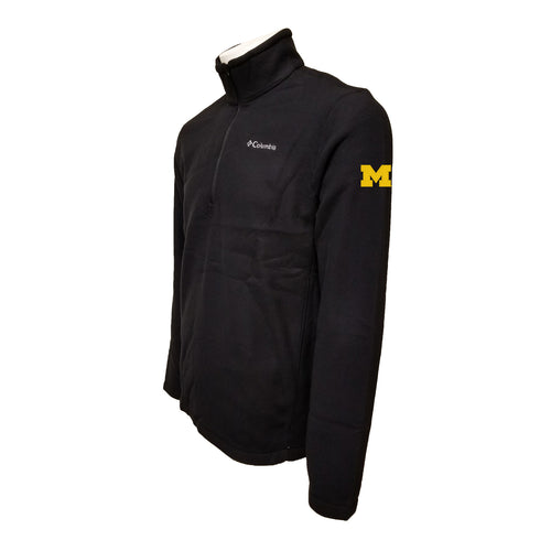 Michigan Columbia Fleece - Maize Thread - Black