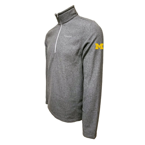 Michigan Columbia Fleece - Maize Thread - Grey