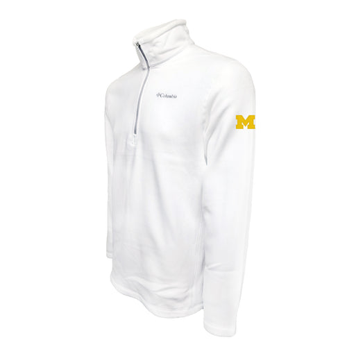 Michigan Columbia Fleece - Maize Thread - White