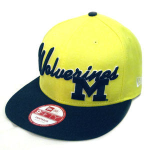 New Era UM Super Script Snapback - Maize