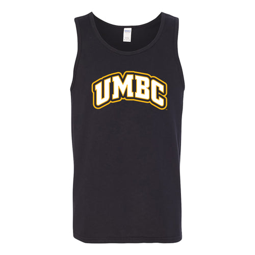 University of Maryland Baltimore County Retrievers Basic Block Tank Top - Black
