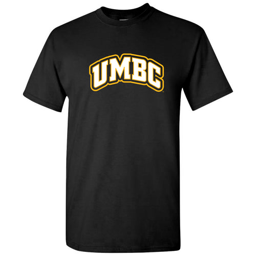UMBC Basic Block T Shirt - Black