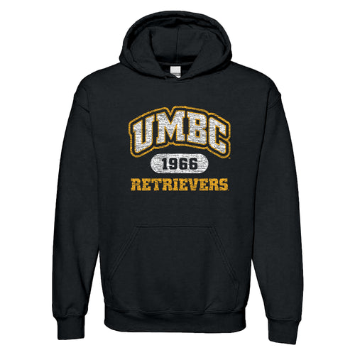 UMBC Athletic Arch Hoodie - Black