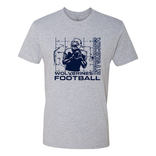 Michigan Football Play - Heather Grey