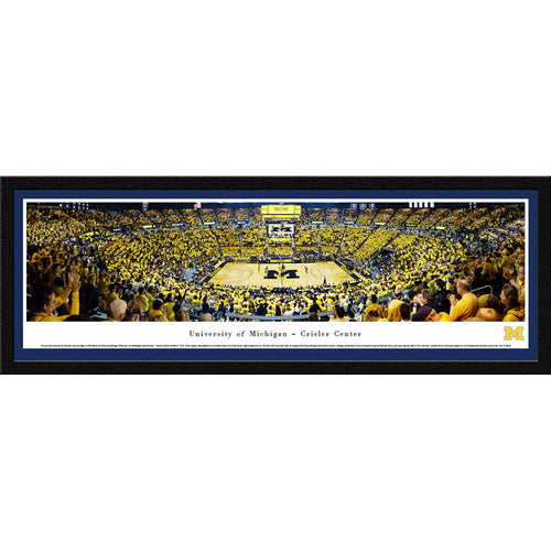 University of Michigan Wolverine Basketball - Select Frame
